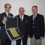 FSK Ehrenmedaille für Gründungsmitglied und 1. Vorsitzenden des Verbandes