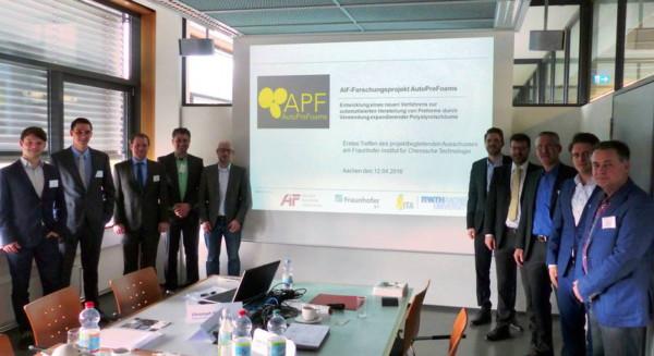 """FSK unterstützt das AiF-geförderte Forschungsprojekt """"AutoPreFoams"""" zur Herstellung textiler Preforms mittels Partikelschaumtechnologie"""