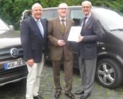 Dank an FSK-Vorstandsmitglied Härtel (Volkswagen AG)