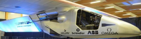 """Die PUR-Kabine des Solar-Flugzeugs """"Solar-Impulse"""" erstmals auf der PUR-Tagung zu sehen"""