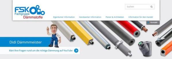Die Seite für alle Fragen rund um die richtige (haustechnische) Dämmung - www.didi-dämmmeister.de