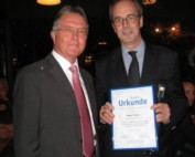 FSK ehrt Walter Tesche und verabschiedet ihn in den Ruhestand