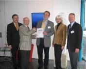 Friedrich Gerold vom FSK geehrt und offiziell verabschiedet