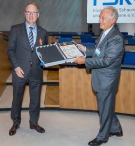 Hohe Auszeichnung für verdientes FSK-Mitglied