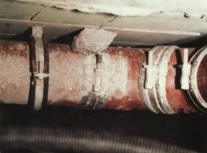 Schallschutz in Verbindung mit sog. schalloptimierten Abwasserrohren