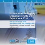 Internationale Fachtagung Schaumstoffe und Polyurethane 2016