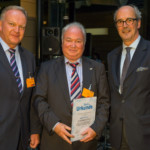 05.11.2014 Gerhard Hinzsch receives the FSK certificate of thanks