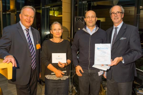 05.11.2014 Dank an die Mitarbeiter der Rhein Chemie