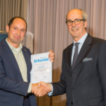 05.11.2014 Steffen Bauer receives the FSK certificate of thanks