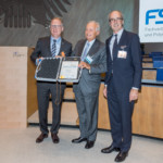 15.09.2015 Dr. Marco Volpato receives the golden FSK medal of honour