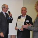 23.11.2016 FSK verleiht die Dankesurkunde an Wolfgang Barth