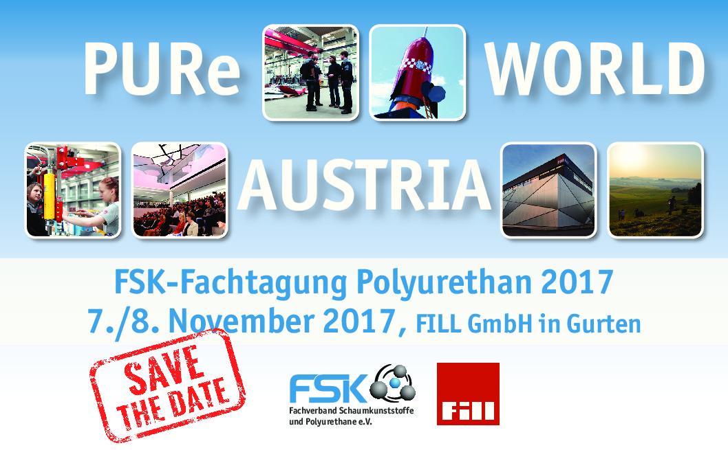 07.-08.11.2017 - FSK-Fachtagung Polyurethane 2017