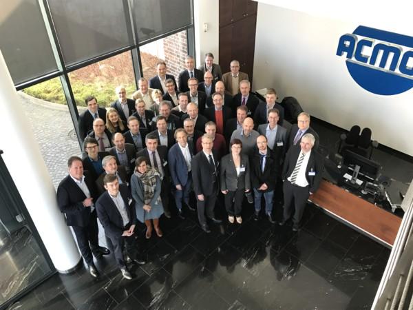 PUR-Fachgruppentreffen des FSK bei ACMOS Chemie KG  in Bremen