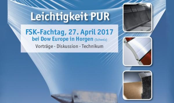 FSK-Fachtag Leichtigkeit PUR in Horgen/Schweiz