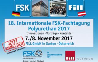 Jetzt Anmelden! FSK-Fachtagung Polyurethane 2017