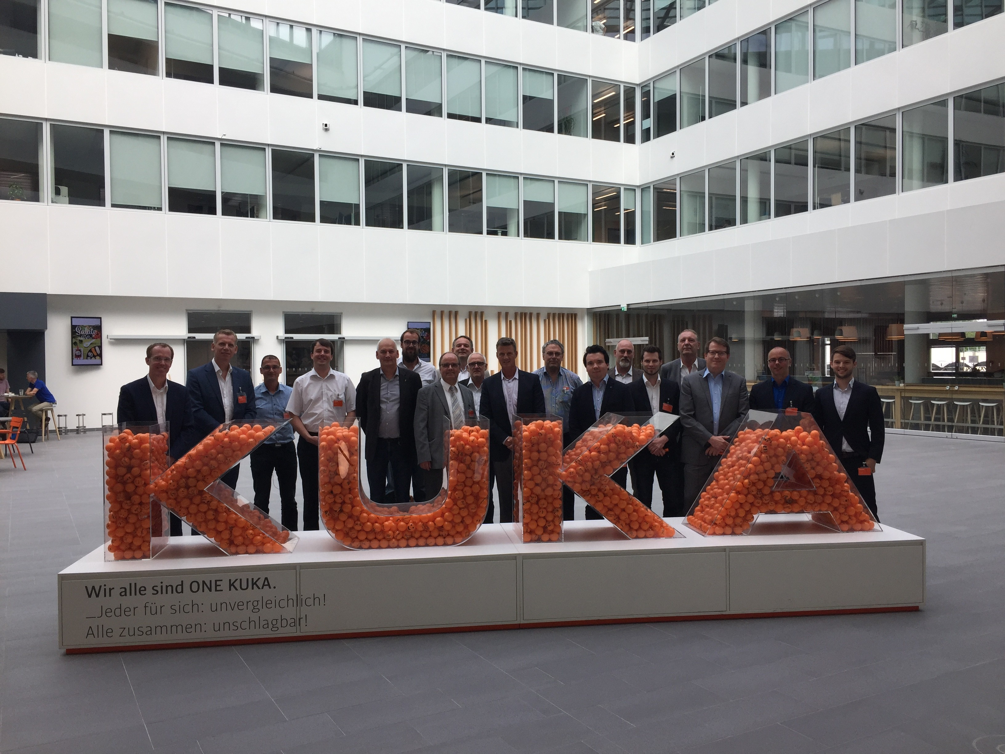 FSK-Fachgruppensitzung bei KUKA in Augsburg