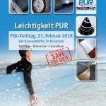 Save the Date: FSK-Fachtag Leichtigkeit PUR 2018 in München