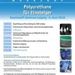 FSK-Workshop Polyurethane für Programm zum FSK-Einsteiger im Kunststoff-Zentrum Leipzig am 06.06.2018