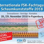 Save the Date - Internationale FSK-Fachtagung Schaumkunststoffe 2018
