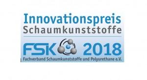 Logo des FSK-Innovationspreises Schaumkunststoffe 2018