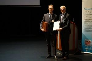 27.11.2018 FSK certificate of thanks for Dr. Norbert Eisen