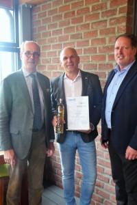 23.05.2019 FSK certificate of thanks for Norbert Kehrer