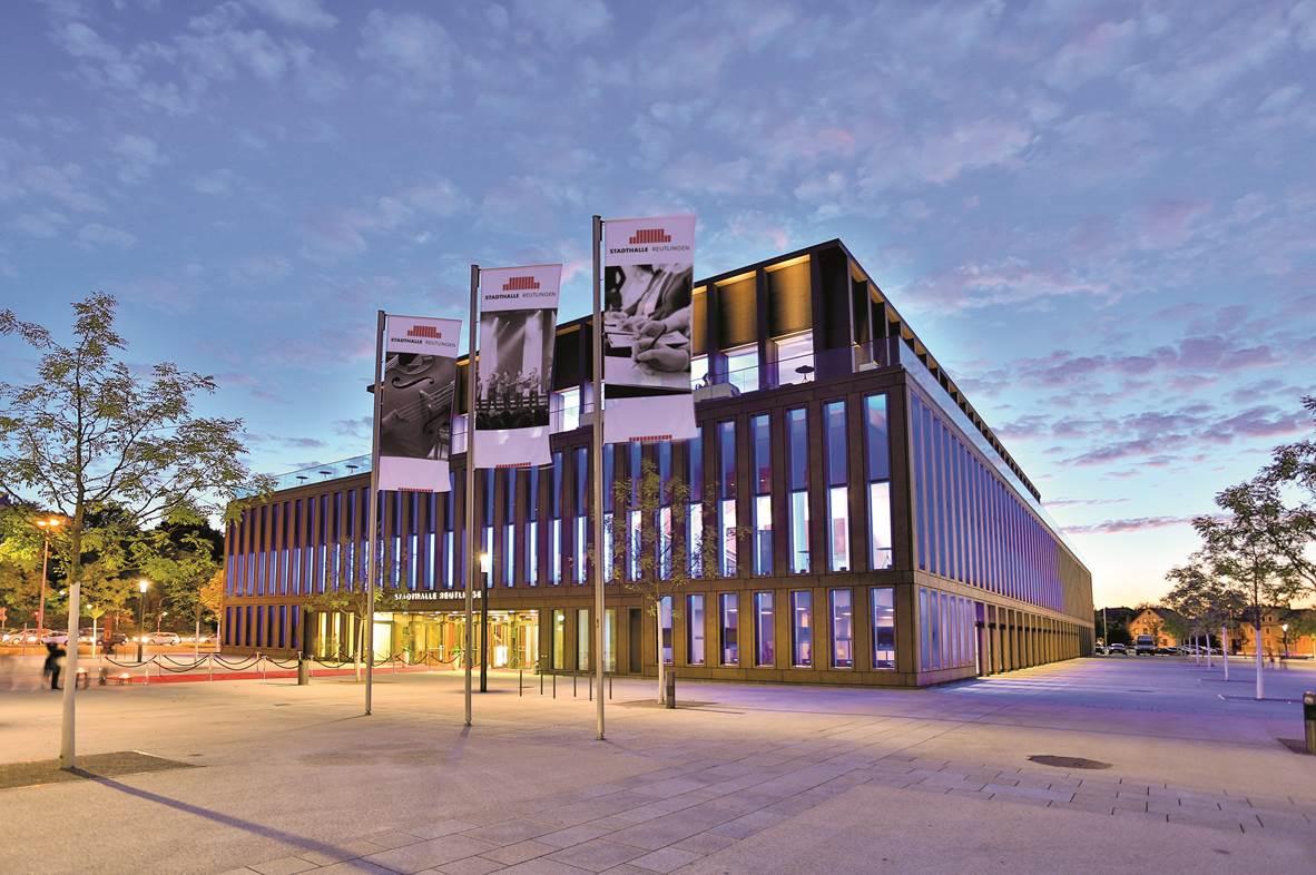 Veranstaltungsort der diesjährigen Internationalen FSK-Fachtagung, die Stadthalle in Reutlingen (BW)